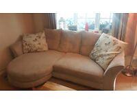 Cream dfs sofa 11 months old
