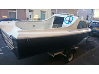 **fishing boat + trailer+ outboard engine + accessories **