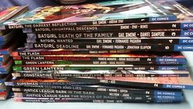 Collection of graphic novels (mainly new 52)
