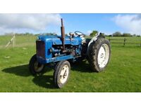 Fordson Super Major Tractor in Good Working Order