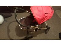 Baby Jogger City Select Pram Pushchair can take 2 Seats ie Double !!