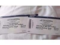 The Cranberries concert tickets 27 May 2017