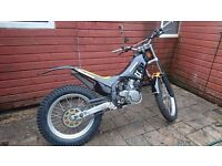 Fantic 249r section 1995 trials bike road legal motorbike trail off road stunt
