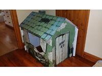 Cardboard play Army House