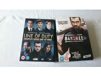 Line of Duty and Banshee full box sets