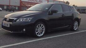 Lexus CT 200h 1.8 F Sport CVT Hybrid 5 door,Automatic,Black,only 27000 miles,1 year MOT