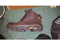 Timberland steel toe caps size 10