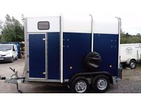 IFOR WILLIAMS HORSE BOX HORSE TRAILER HB 505R YEAR 2005 ALLOY FLOOR.