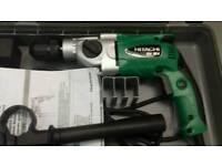 Brand new Hitachi Dv18v impact hammer drill