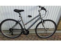 Ladies Globe bike with saddle bar suspension. Very comfortable ride.