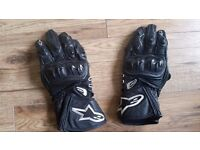 Alpinestars GP Plus large leather motorcycle gloves