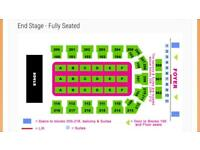 Stereophonics Tickets seated - block 113
