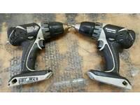 2 Panasonic 14.4v drills for spairs or repair