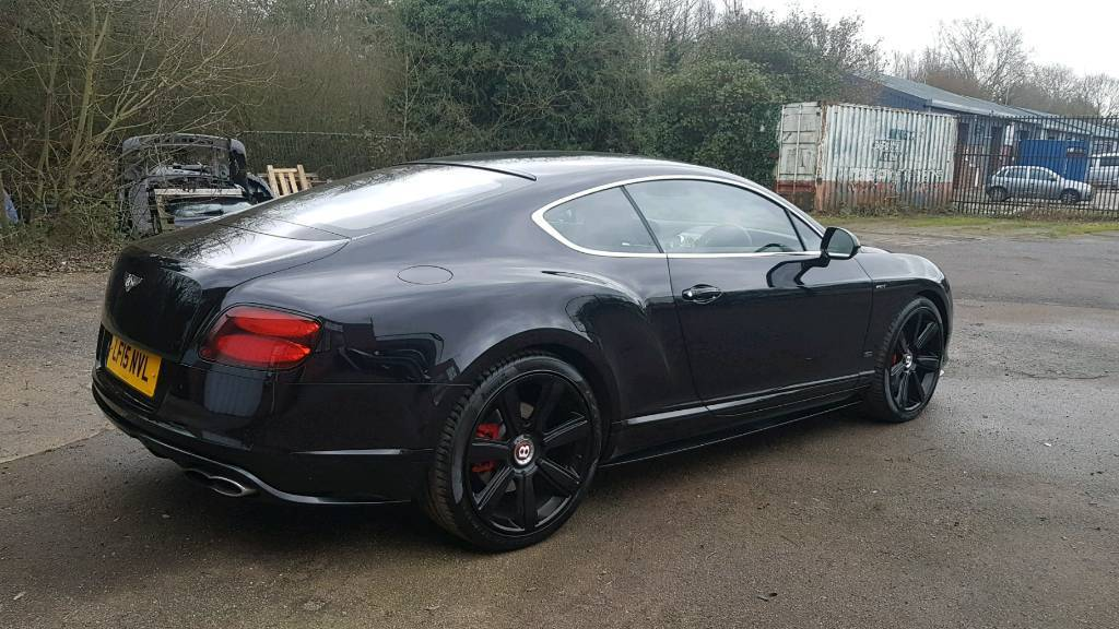 Chauffeur Driven Service Bentley Continental Gt For Prom