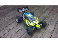XTM XLB Monster Buggy, Nitro Car, Nitro Buggy (28 Engine)