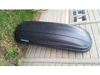 Large Kamei Husky Roof Box top box with key