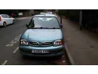 Nissan Micra S (2002) FOR SALE £ 820 ono (52,500 miles), MOT April 2019. Very good condition.