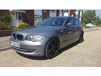 2008 BMW 118D 2.0 Diesel 1 Series, 75000 miles, 18'' alloys not an audi or Golf