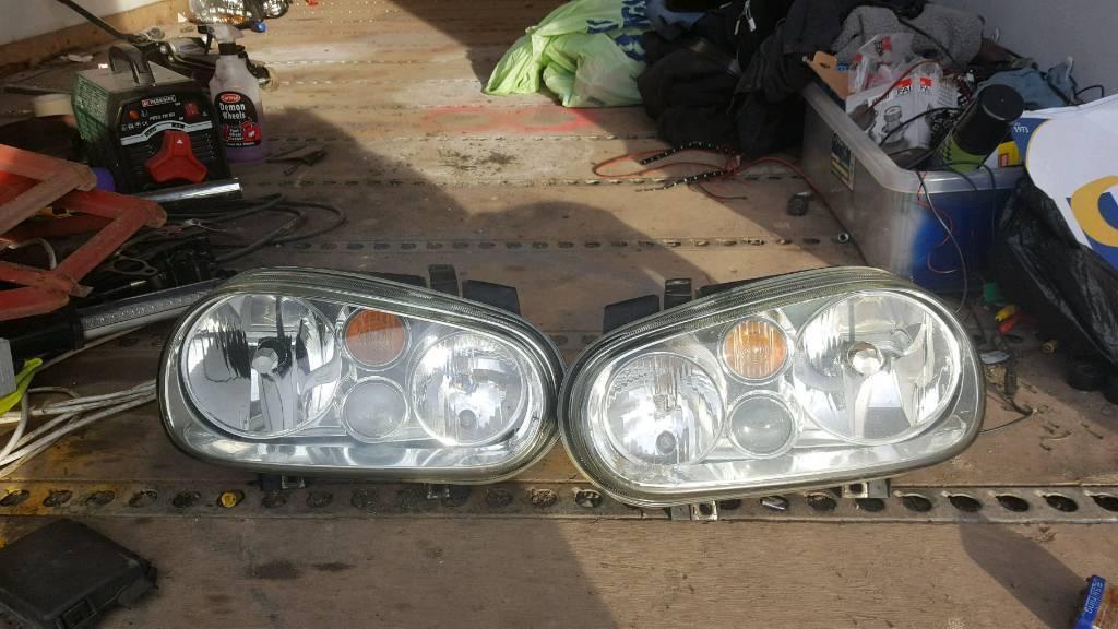 VW golf MK4 headlights