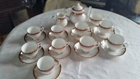 Royal Grafton red majestic Crockery