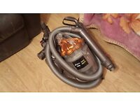 dyson dc20 bagless hoover great condition + large turbine head boxed instruction Manuel