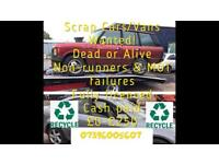 All car/vans wanted dead or alive sell your car for cash