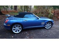 Chrysler Crossfire Roadster for sale (reluctantly )