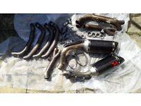Used, Akrapovic Yamaha R1 big bang exhaust for sale  Southampton, Hampshire