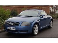 Audi TT Coupe (180) LHD - LEFT HAND DRIVE (1999/S Reg) + DENIM BLUE + 92K + FSH + IDEAL ABROAD +