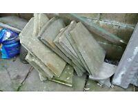 Paving slab shapes, various