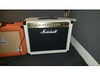 Limited Edition Marshall DSL40CC White Combo