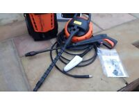 Vax 2500w 180 bar pressure washer - used once