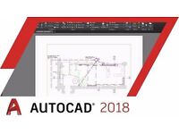 AutoCAD 2018 For Windows - BUY 1 SOFTWARE , GET 1 FOR FREE ONLY TODAY !