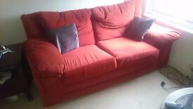 2 x Two seater settees