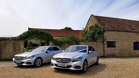 Silver Mercedes wedding cars - reliable and experienced