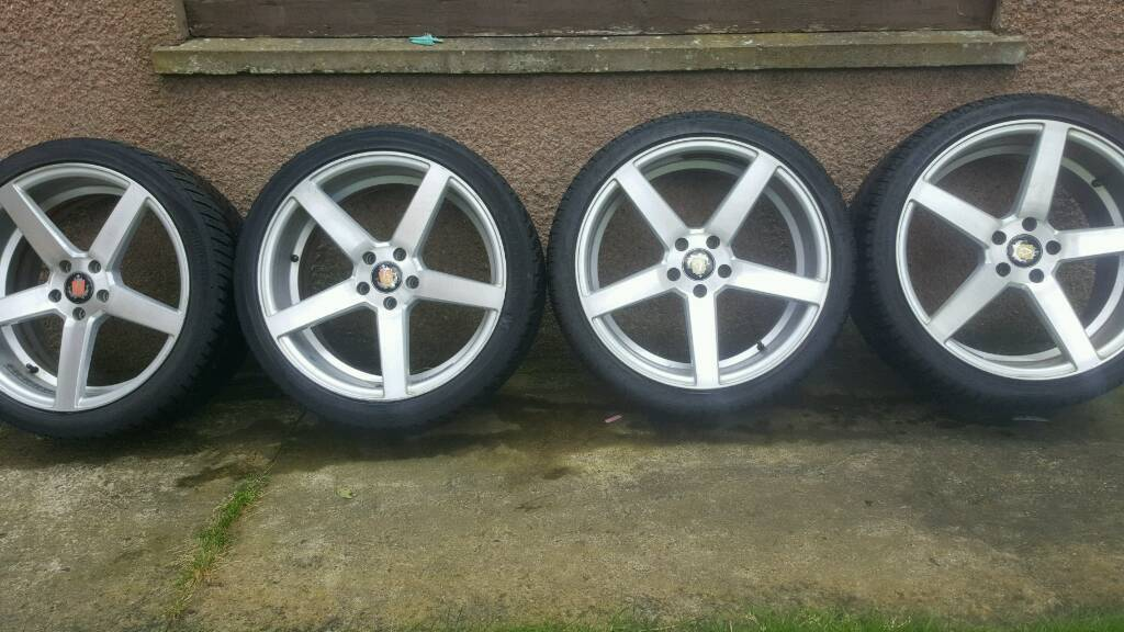 Audi wheels with winter tyres 255 35 r19