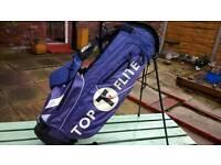 Top Flite Stand Golf Bag with rain hood.
