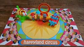 ELC Happyland circus set