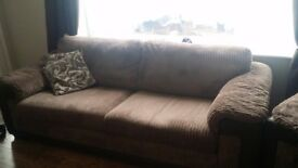 Sofa , 2 Armchairs and pouffee
