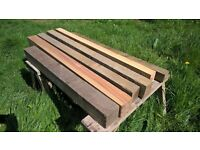 chunky timbers / wood ideal for garden raised beds