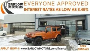 2011 Jeep WRANGLER UNLIMITED Sahara*EVERYONE APPROVED*APPLY NOW