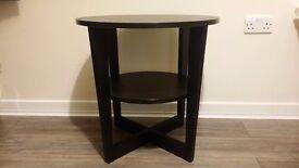 Ikea side table black