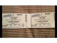 Papa Roach 2 x concert tickets Birmingham 5th October