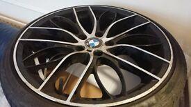"4 Good Condition tyres & 4 19"" Alloys"