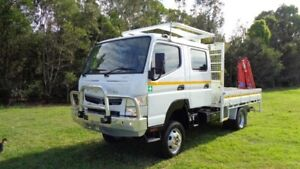 2019 Fuso Canter White Dual Cab Rocklea Brisbane South West Preview