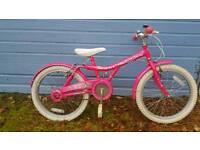Girls bike pink 6+ yrs