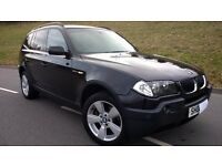 Stunning 2006 BMW X3 2.0 Diesel (150 bhp) with FSH, TOP SPEC and LOW MILEAGE!!