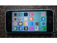Iphone 5C 8GB Blue Sim lock (EE.Orange,T-Mobile)