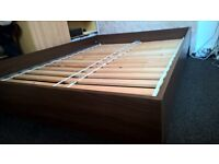 IKEA Double bed frame with Sultan mattress