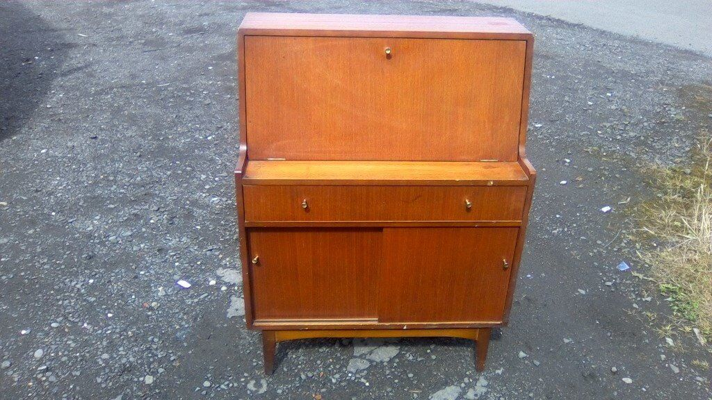 Lovely mid century modern Remploy styled bureau